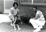 Family In Benford Court, 1970s