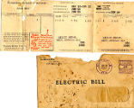 Lillie Moore Album--Power Bill 1937