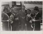 United Airlines Ribbon Cutting Huntsville to LA (October 13, 1969)